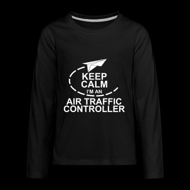 air traffic controller - Teenager Premium Langarmshirt