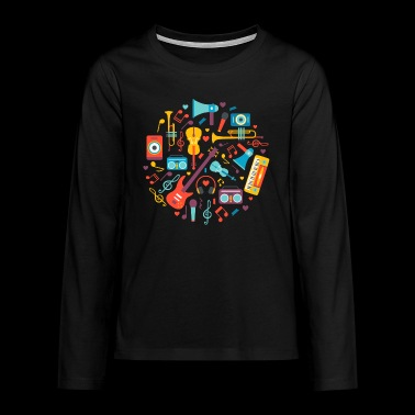 Music instruments - Teenagers' Premium Longsleeve Shirt