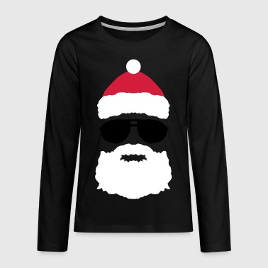 FATHER CHRISTMAS COOL - Teenagers' Premium Longsleeve Shirt
