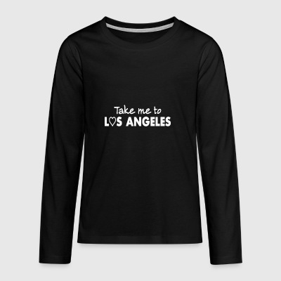 LOS ANGELES - USA - West Coast - CALIFORNIA - Teenager Premium shirt met lange mouwen