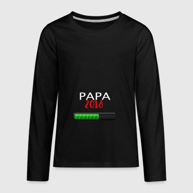 Dad 2018 - Teenagers' Premium Longsleeve Shirt