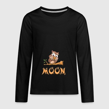 Owl moon - Teenagers' Premium Longsleeve Shirt