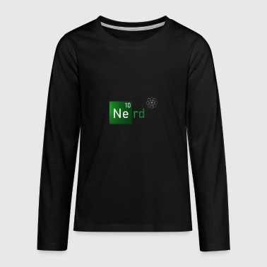 Nerd - Chemie Uni Element Cool - Teenager Premium Langarmshirt
