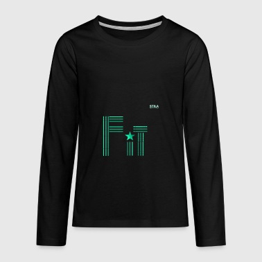 Stila Fit - Teenager premium T-shirt med lange ærmer