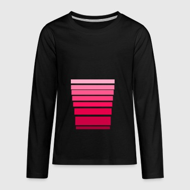pink set - Teenagers' Premium Longsleeve Shirt