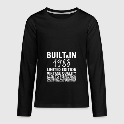 BUILT IN 1983! - Teenager Premium Langarmshirt