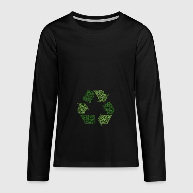recycling - Teenagers' Premium Longsleeve Shirt
