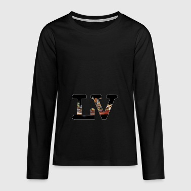Las Vegas City - Teenagers' Premium Longsleeve Shirt
