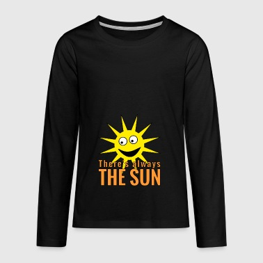 always the sun - gift idea - Teenagers' Premium Longsleeve Shirt