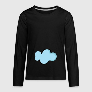cloud - Teenager Premium Langarmshirt