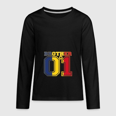 brother brother brother 01 partner Romania - Teenagers' Premium Longsleeve Shirt