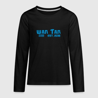Wantan 2020 GREEN - Teenager Premium Langarmshirt