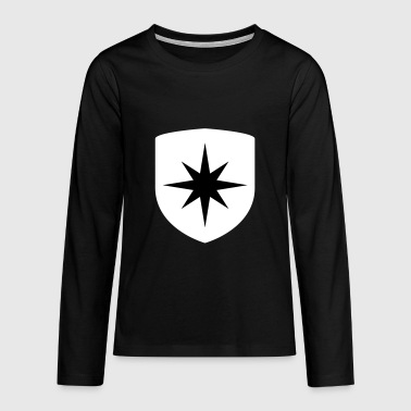 Stern Coat of arms - Teenagers' Premium Longsleeve Shirt