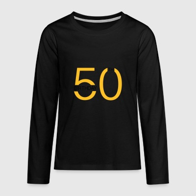 6061912 120363759 50th - Teenagers' Premium Longsleeve Shirt