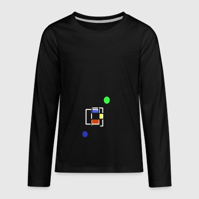 Shapes and colors - Teenagers' Premium Longsleeve Shirt