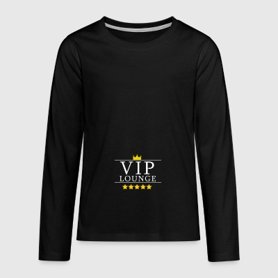 VIP lounge design gift - Teenagers' Premium Longsleeve Shirt