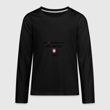 Can I pay for concert tickets - Teenagers' Premium Longsleeve Shirt
