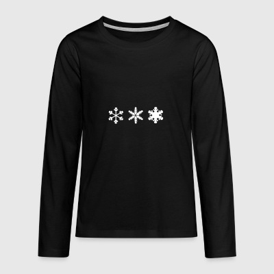 2541614 10605010 snow - Teenagers' Premium Longsleeve Shirt