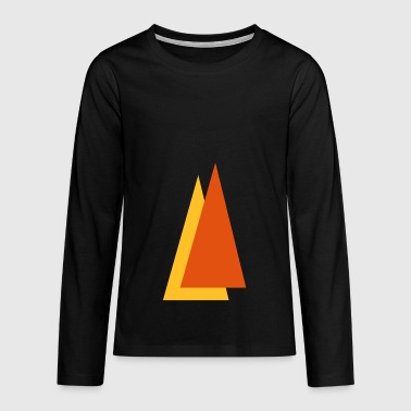 Triangle - Teenagers' Premium Longsleeve Shirt