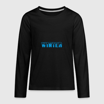 2541614 10900038 winter - Teenager Premium Langarmshirt