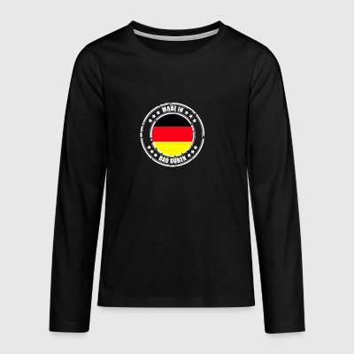 BAD DÜBEN - Teenager Premium Langarmshirt
