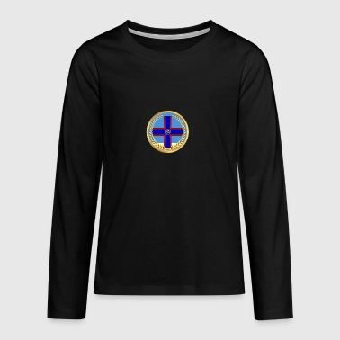 Zen / Christian Church Logo - Teenagers' Premium Longsleeve Shirt