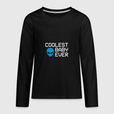 Coolest baby ever - Teenagers' Premium Longsleeve Shirt