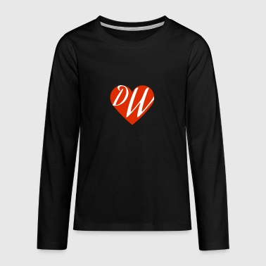 DW Love - Teenagers' Premium Longsleeve Shirt