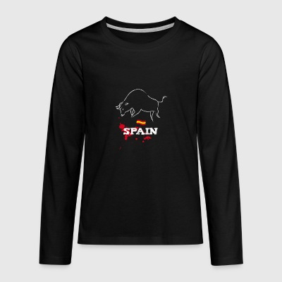 Spain bulle - Teenagers' Premium Longsleeve Shirt