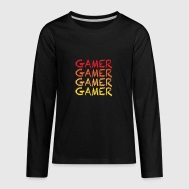 Gamer - Teenagers' Premium Longsleeve Shirt