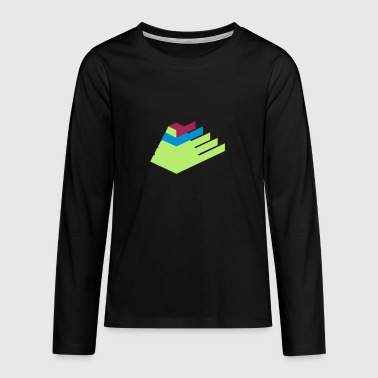 Pyramid - Teenagers' Premium Longsleeve Shirt