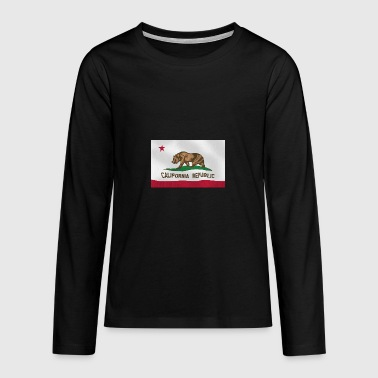 California - Teenagers' Premium Longsleeve Shirt