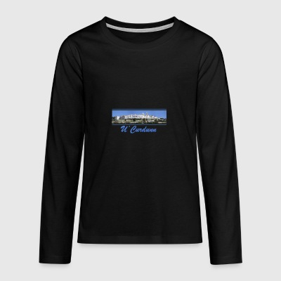 Locorotondo in dialect u'curdunn - Teenagers' Premium Longsleeve Shirt