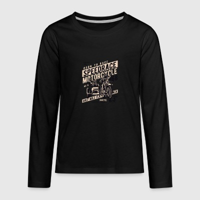 Speedrace2 - Teenagers' Premium Longsleeve Shirt