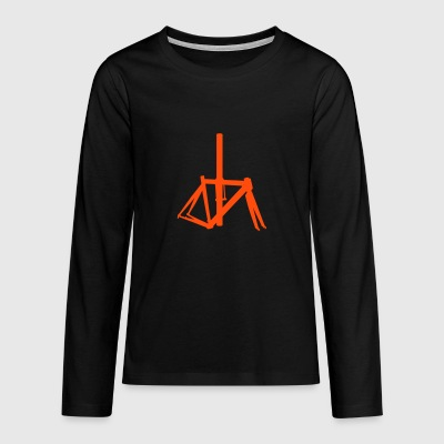 Bicycle frame 7 - Teenagers' Premium Longsleeve Shirt