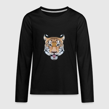 Tiger - Teenagers' Premium Longsleeve Shirt
