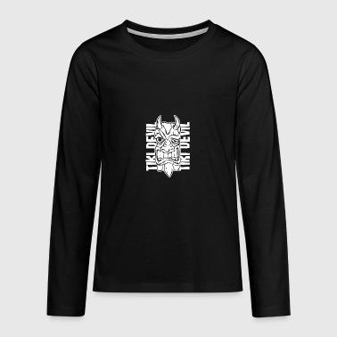 tiki devil - Teenagers' Premium Longsleeve Shirt