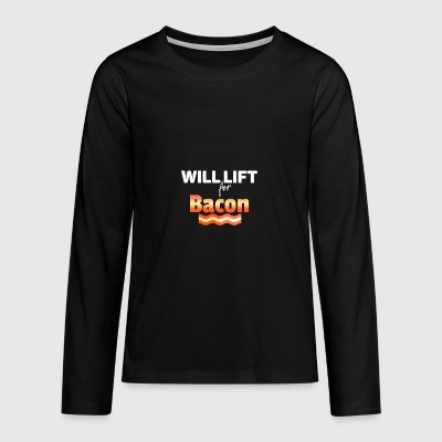 Will lift - Teenager Premium Langarmshirt