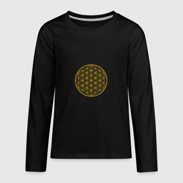 flower of Life - Teenagers' Premium Longsleeve Shirt