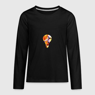 light bulb - Teenagers' Premium Longsleeve Shirt