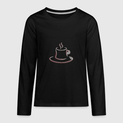 2541614 14651969 coffee - Teenagers' Premium Longsleeve Shirt