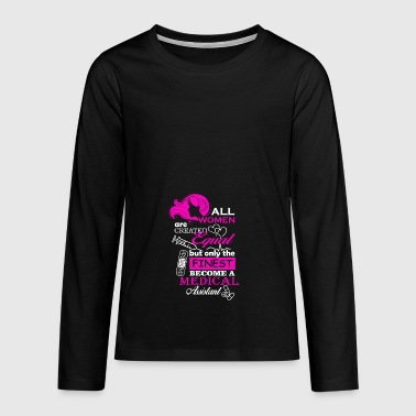 all women are created equal - Teenagers' Premium Longsleeve Shirt