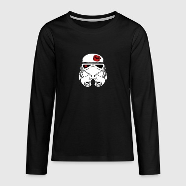 Stromtrooper in LOVE - Smiling Troopa - Teenagers' Premium Longsleeve Shirt