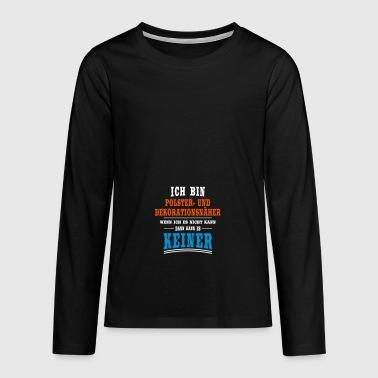 suchbegriff 39 polster 39 langarmshirts online bestellen spreadshirt. Black Bedroom Furniture Sets. Home Design Ideas