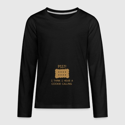biscuit - Teenagers' Premium Longsleeve Shirt