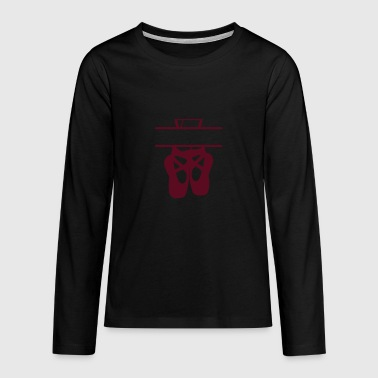 ballet shoes - Teenagers' Premium Longsleeve Shirt