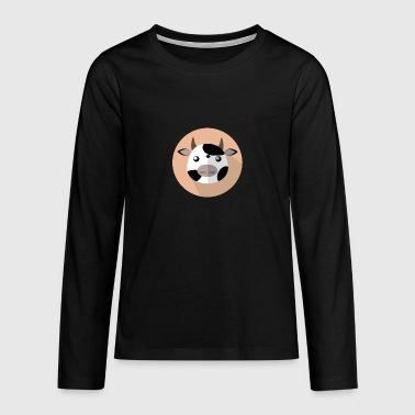 Cow - Teenagers' Premium Longsleeve Shirt