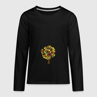 BlackBerry fruit veggie veggie fruits8 - Teenager Premium shirt met lange mouwen