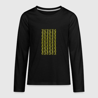 Golden Chain - Teenagers' Premium Longsleeve Shirt