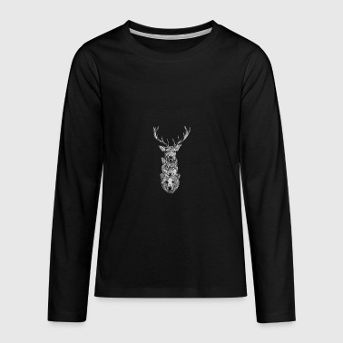 animals - Camiseta de manga larga premium adolescente